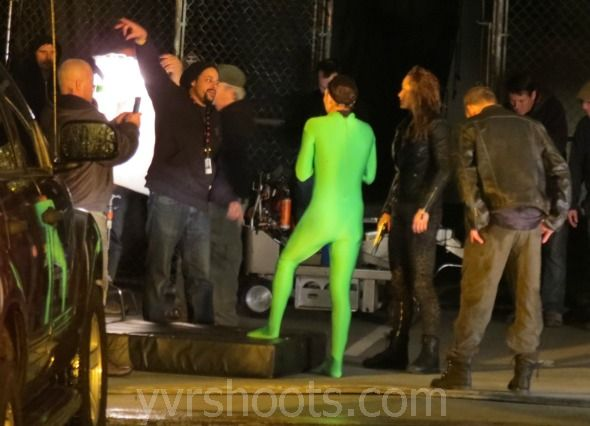 Shoot Continuum S2 S Green Skin Suit Stunt At Cbc