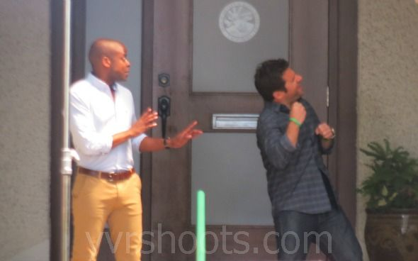 Dule hill and james roday friends in real life