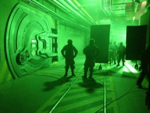 What's behind the radioactive containment doors? @ Copyright Legendary Pictures