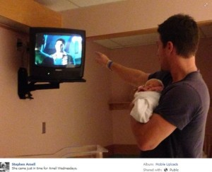arrow star Stephen Amell birth