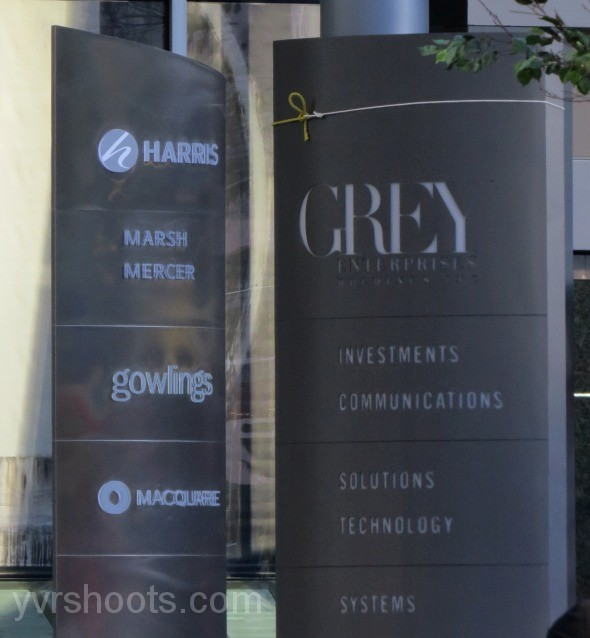 set fifty shades of grey turns bentall 5 tower into grey house hollywood north. Black Bedroom Furniture Sets. Home Design Ideas
