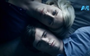 bates motel mom & son
