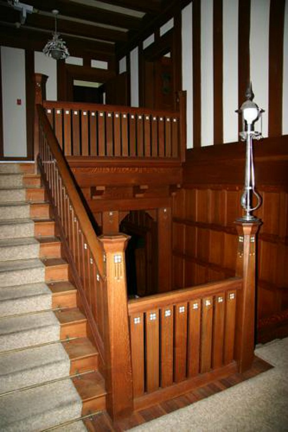 ouat overlyn mansion stairs
