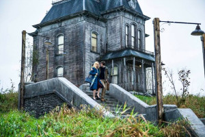Bates Motel house