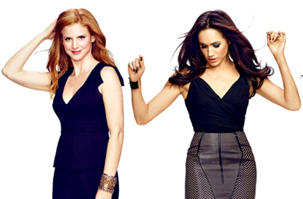 TV MOVIES: SUITS' Sarah Rafferty & Meghan Markle in Vancouver to ...