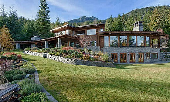 Shoot fifty shades freed at gated whistler estate as for Aspen house