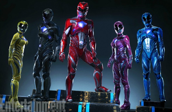 power rangers movie new suits