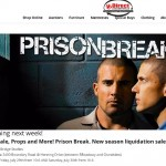 Prison Break set sale