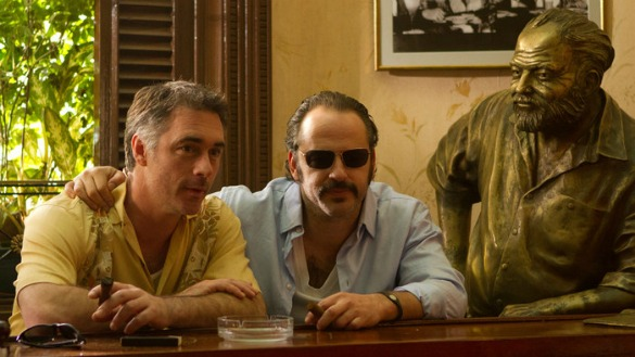 Production still from 3 Days in Havana